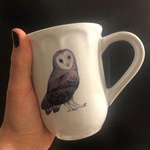 World Market Owl Coffee Mug